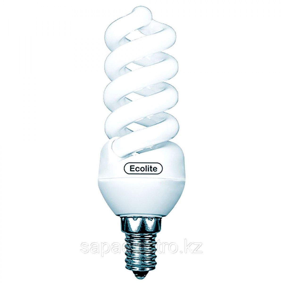 Лампа ECOTWIST  13W  860   E14  (EСOLITE)100шт