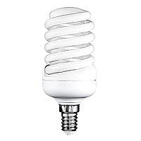 Лампа SPIRAL 15W MINI E14 GREEN  (TL)100шт