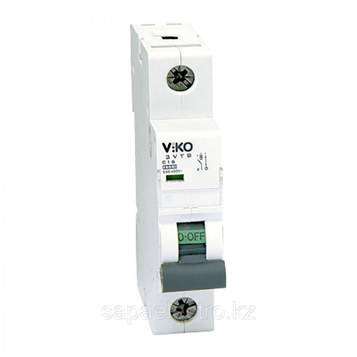 3VTB-1B50  Автомат 1P 50A  3KA  B-C  (VIKO) 120шт