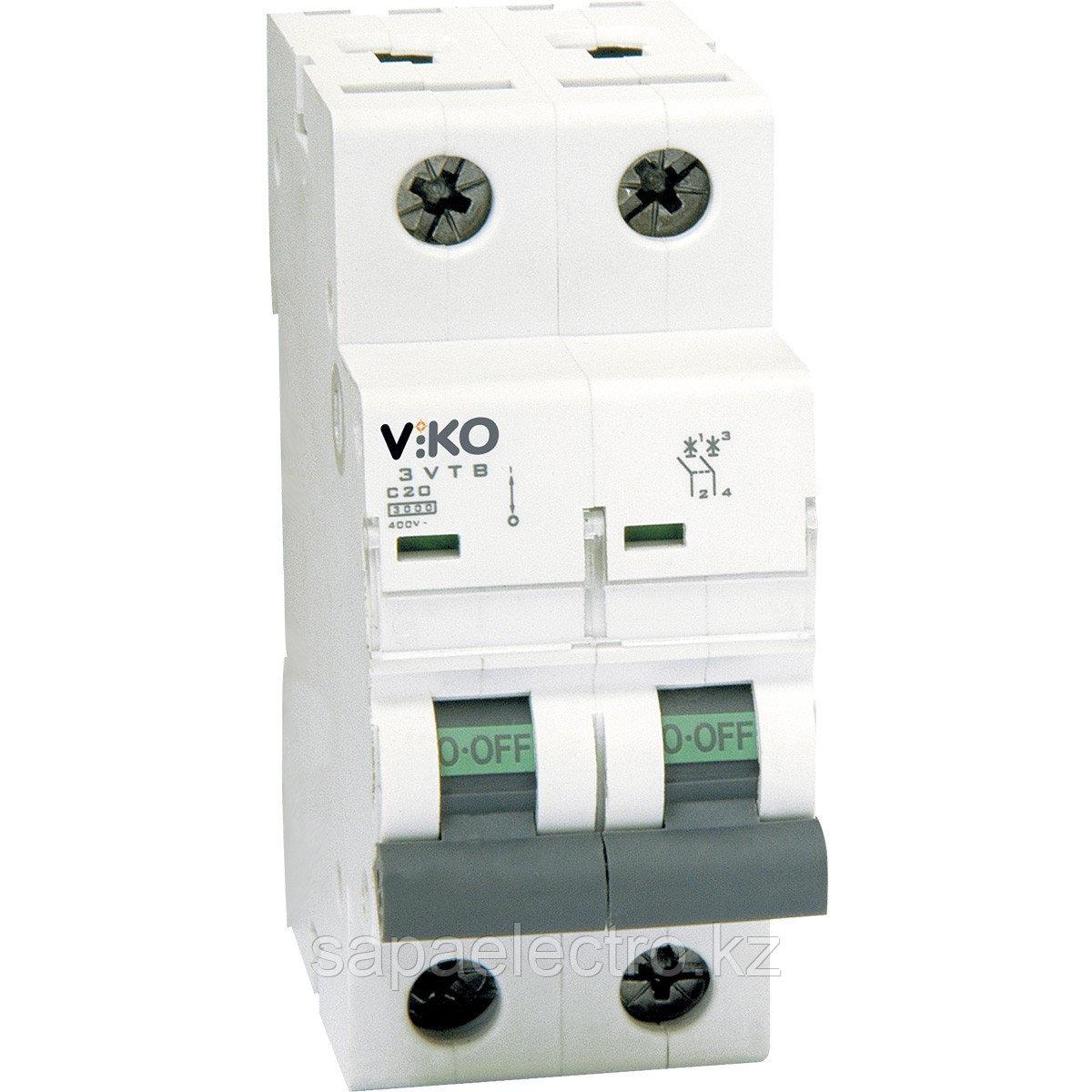 4VTB-2С16  Автомат 2P  16A С  4,5KA   (VIKO)60шт