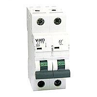 4VTB-2C40  Автомат 2P  40A C  4,5KA   (VIKO)60шт
