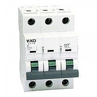 3VTB-3C125  Автомат 3P 125A  3KA  B-C  (VIKO)40шт