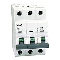 4VTB-3C25  Автомат 3P  25A  4,5KA  B-C (VIKO)40шт