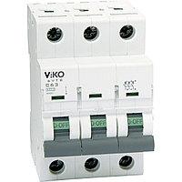 4VTB-3C50  Автомат 3P  50A  4,5KA  B-C  (VIKO)80шт