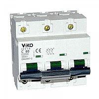 10VTB-3С80  Автомат 3P  80A  10KA  B-C   (VIKO)