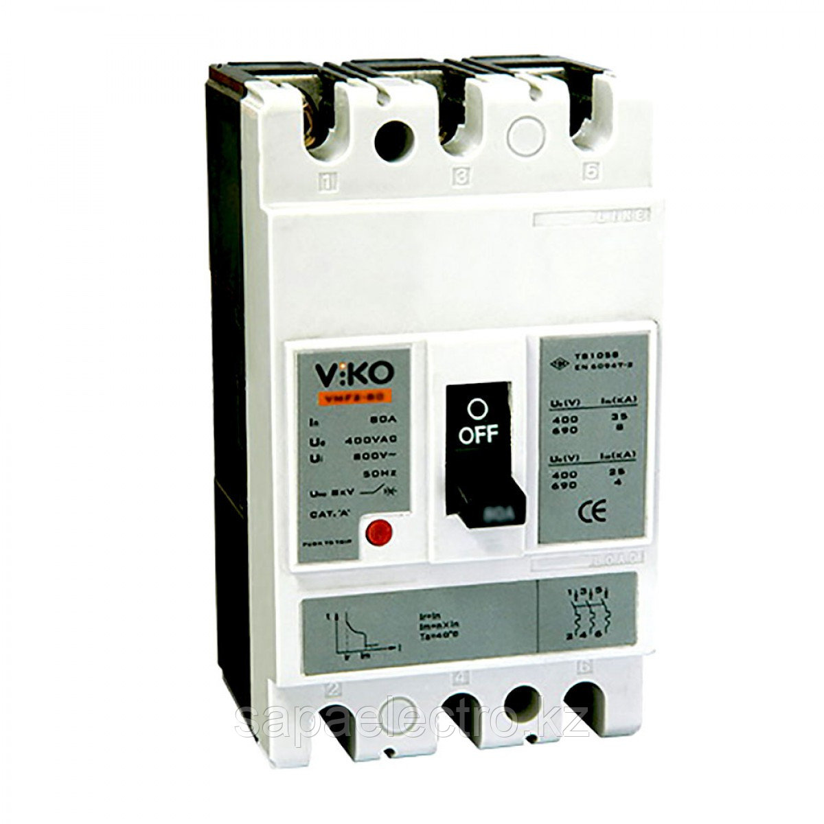 Авт. Выкл. VMF1  63А 3Р 20кA  (VIKO)12шт
