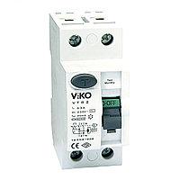 VTR2-6330 УЗО UZO RCCB  2P 63A 30MA(VIKO)100шт