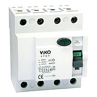 VTR4-2530 УЗО UZO RCCB  4P 25A 30MA(VIKO) 30шт