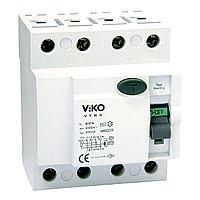 VTR4-6330 УЗО UZO RCCB  4P 63A 30MA(VIKO) 30шт