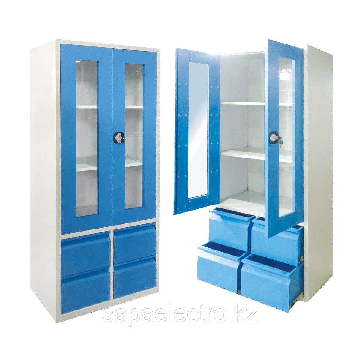 Металл. Шкаф для преподавателей  800x450x1950 MGL
