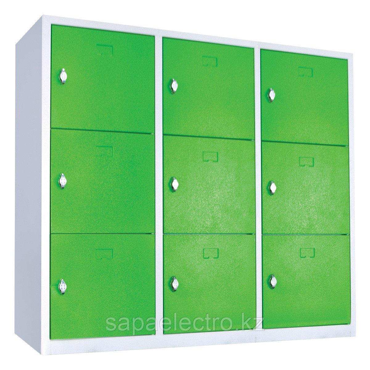 Металл. Книжный шкаф для школы 1300x400x1300 MGL