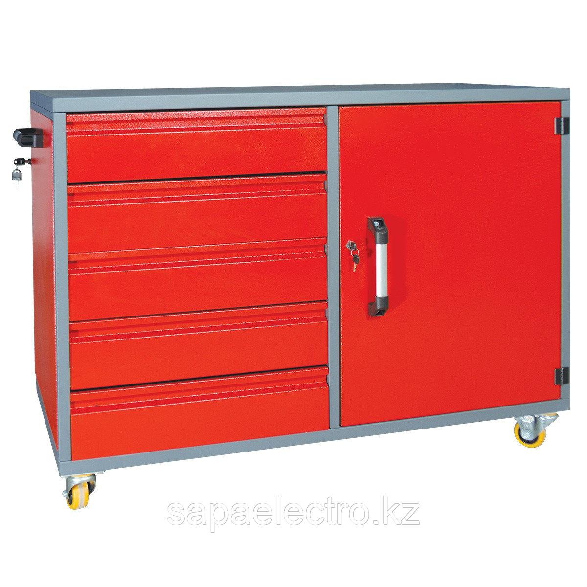 Металл.Шкаф для инструментов (5 полок)1200x600x810