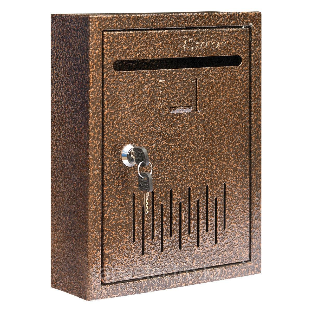 Металл.Почтовый ящик (маленький)  РК3 (300x230x80)