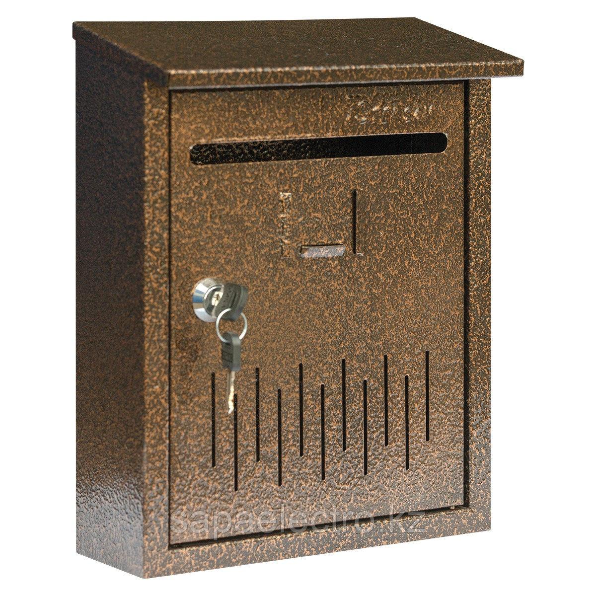 Металл.Почтовый ящик (маленький) с козырьком PK4 (2