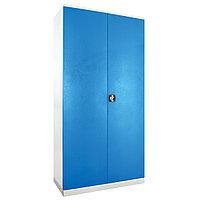 Металл.Шкаф Style 7полок/перекладина/1замок(1000x20