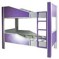 Кровать двухъярусная металлическая (Metal ranza) CO