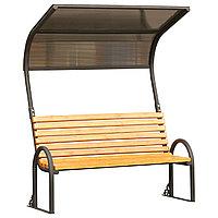 Садово-парковая скамейка с навесом Klasik MGL(TS)