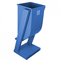 Металл.Мусорная Урна (Синий) (925x410x350) MGL (TS)