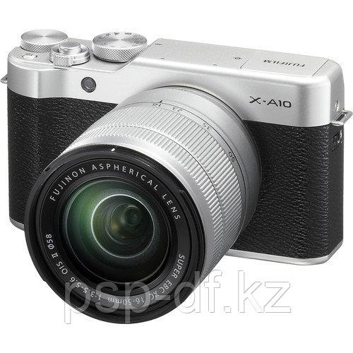Фотоаппарат Fujifilm X-A10 kit 16-50mm Silver