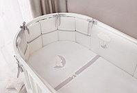 Комплект в кроватку Perina Bonne Nuit Oval 7 предметов   БНО7-125х65