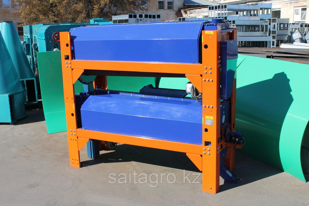 Триерный блок АЗТБ 07.800 производит. -7-8 т./ч.