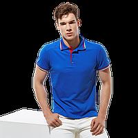 Стильная рубашка поло , StanSalute, 05RUS, Синий (16), 3XS/40