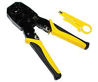 Инструмент обжимной B&S, для RJ45 / RJ11 / RJ12, Stripping Plier,кримпер (BS433468)