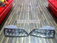 Светодиодные фонари в углы заднего бампера Nissan Patrol