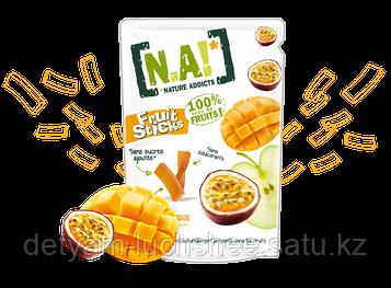 Безглютеновые фруктовые полоски со вкусом манго,производство Бельгия ,вес 35 грамм