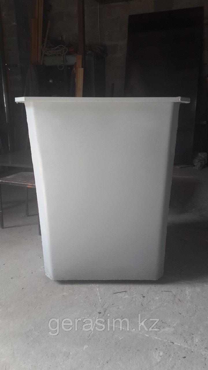 Мусорный контейнер толщиной 2 мм (НДС 12% в т.ч.)