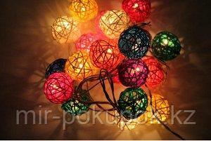 Гирлянда цветные шары, Алматы