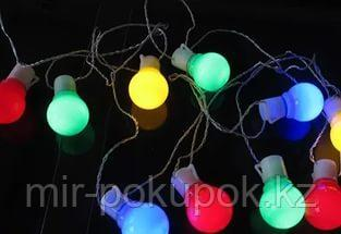 Гирлянда цветные шары , Алматы