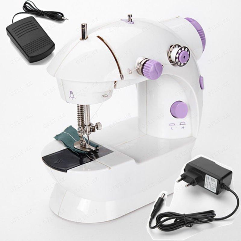 Портативная мини швейная машинка Mini Sewing Machine