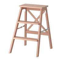 Стремянка 3 ступеньки БЕКВЭМ бук ИКЕА, IKEA