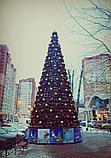 Ели искусственные искусственная ель, елки искусственные, елки из пвх 11 м (диаметр 4,8 м), фото 7