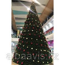 Ели искусственные искусственная ель, елки искусственные, елки из пвх 18 м (диаметр 7,9 м)