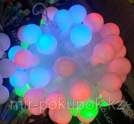 Светящийся шар, Алматы