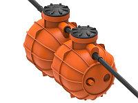 Резервуар жироуловитель Биосток 4 на 2 м3