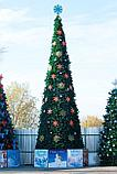 Искусственная каркасная елка Астана, хвоя-пленка 7 м (диаметр 3 м), фото 7