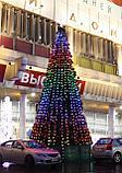 Искусственная каркасная елка Астана, хвоя-пленка 15 м (диаметр 6,6 м), фото 5