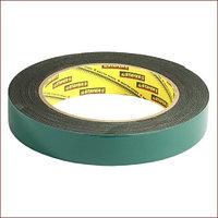 Двухсторонняя клейкая лента на вспененной основе, STAYER Professional 12233-09-05, черная, 9мм х 5м
