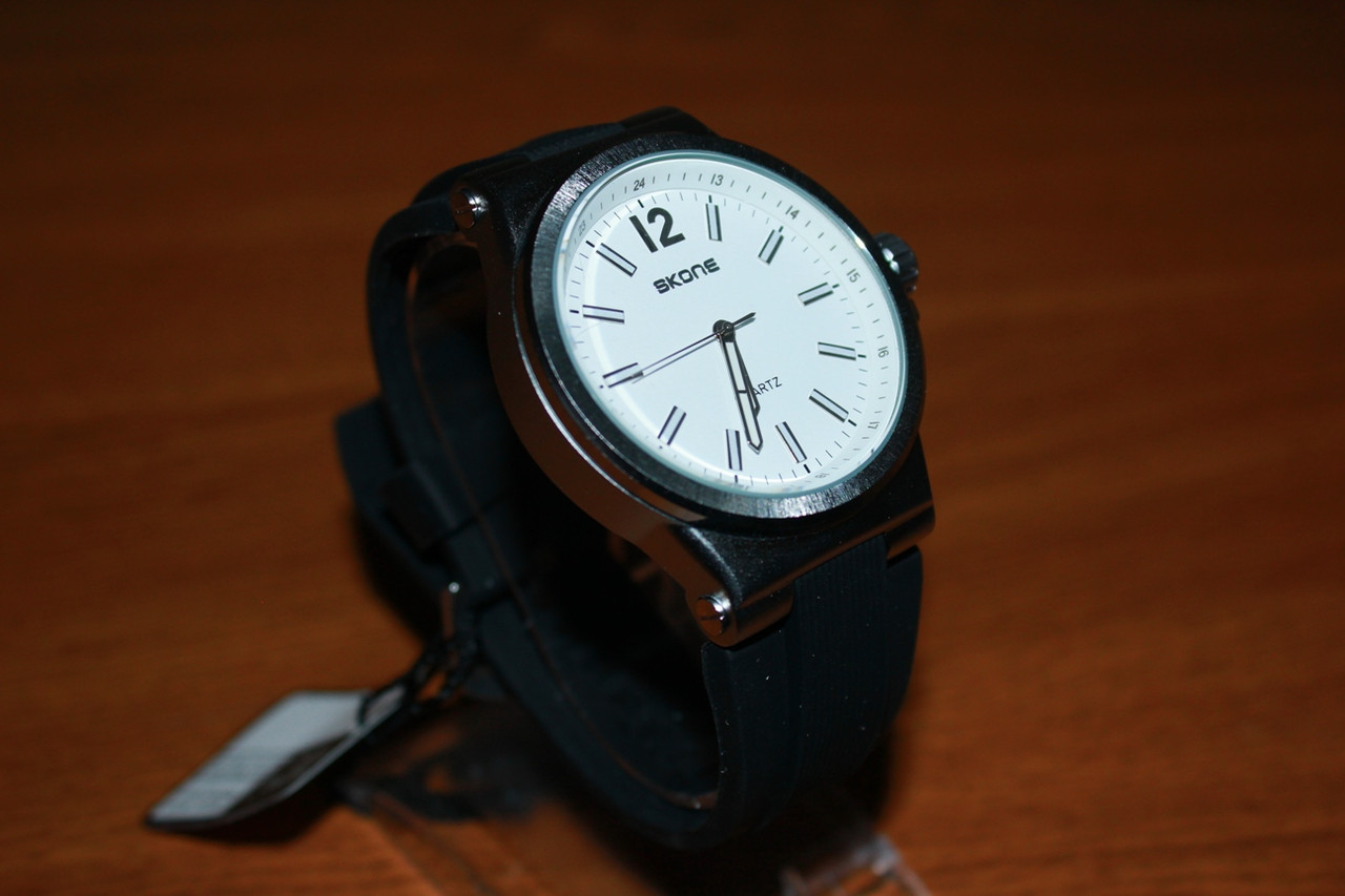 Часы Skone 5155G силиконовый ремешок