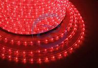 Дюралайт LED, свечение с динамикой (3W) - красный, 36 LED/м, бухта 100м, фото 1