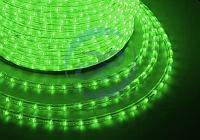 Дюралайт LED, свечение с динамикой (3W) - зеленый, 36 LED/м, бухта 100м, фото 1