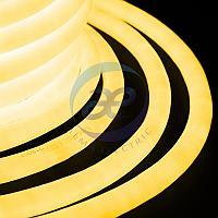 Гибкий Неон LED 360 (круглый) - желтый, бухта 50м