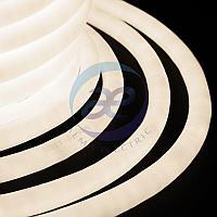 Гибкий Неон LED 360 (круглый) - ТЕПЛЫЙ БЕЛЫЙ, бухта 50м