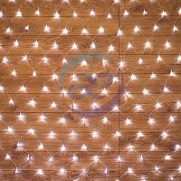 "Гирлянда ""Сеть"" 1,5х1,5м, прозрачный ПВХ, 150 LED Белые, фото 1"