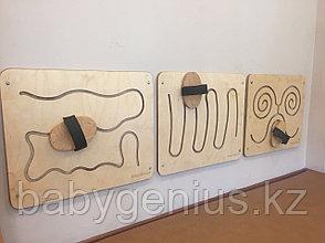 Лабиринт для опорно-двигательного аппарата, стеновая сенсорная панель, Лабиринт для ног и рук, фото 2