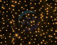 """Гирлянда """"Светодиодный Дождь"""" 2х6м, постоянное свечение, черный провод, 230 В, диоды ЖЕЛТЫЕ, 1140 LED"""