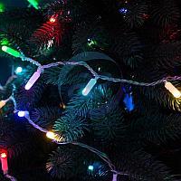 Гирлянда Нить 10м, 100 LED, цвет: RGB. свечение с динамикой (при использовании контроллера), 230 В, фото 1